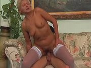 Mature breasty fat mom fucked hard
