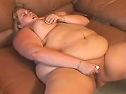 Huge beauty with big tits shows off