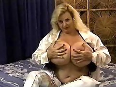 Fat mature present massive melons